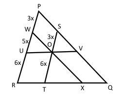 solution three similar internal triangles